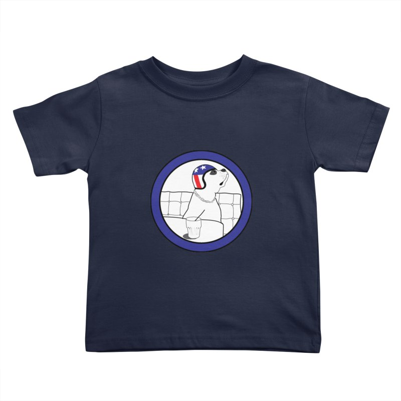 Awesome Dog Kids Toddler T-Shirt by Shirts That Never Happened