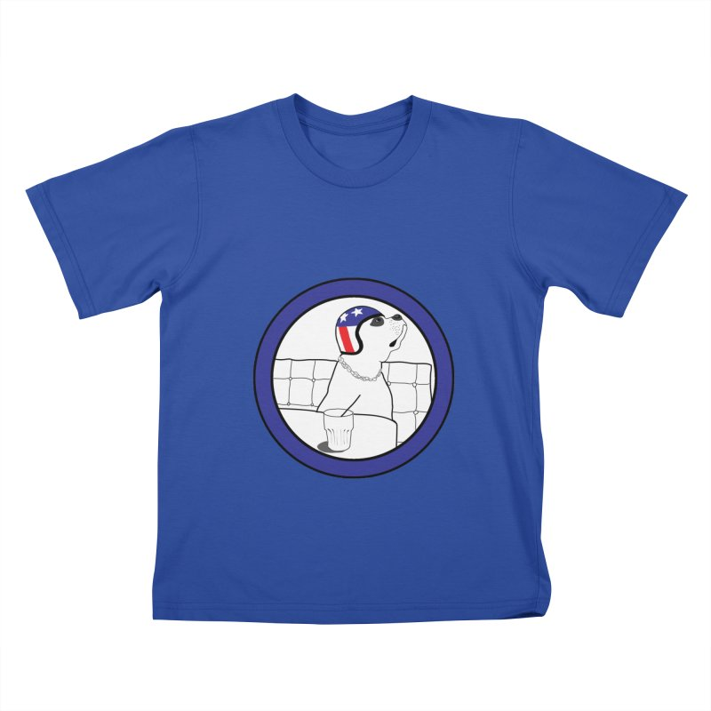 Awesome Dog Kids T-Shirt by Shirts That Never Happened
