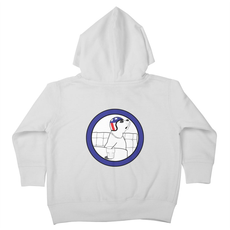 Awesome Dog Kids Toddler Zip-Up Hoody by Shirts That Never Happened