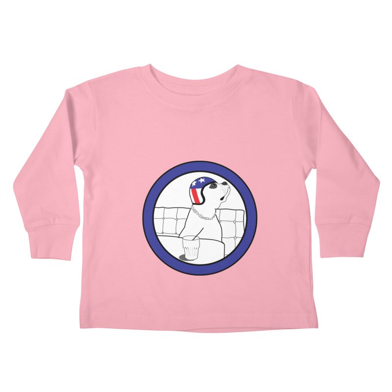Awesome Dog Kids Toddler Longsleeve T-Shirt by Shirts That Never Happened