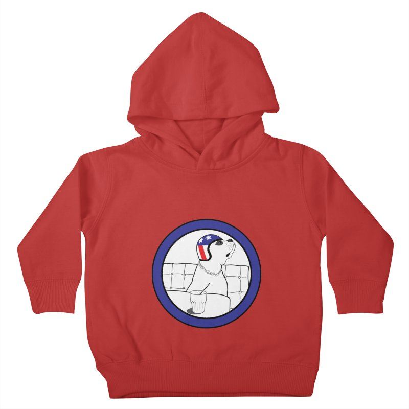 Awesome Dog Kids Toddler Pullover Hoody by Shirts That Never Happened