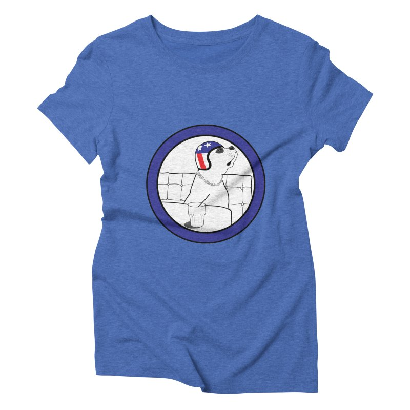 Awesome Dog Women's Triblend T-Shirt by Shirts That Never Happened