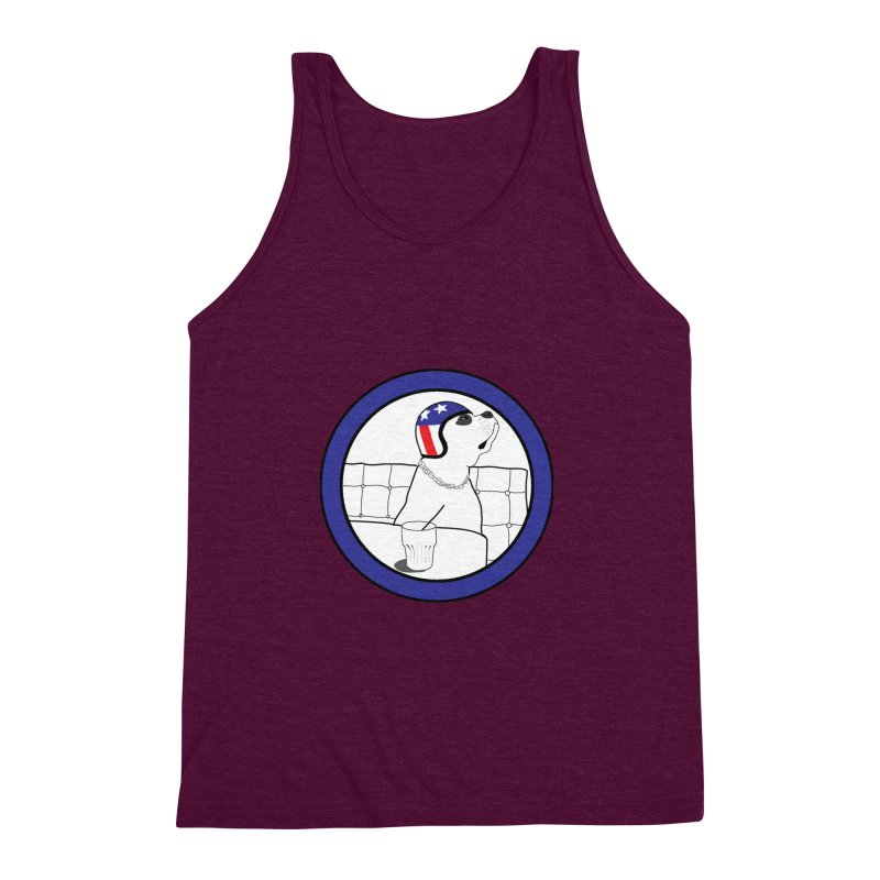 Awesome Dog Men's Triblend Tank by Shirts That Never Happened