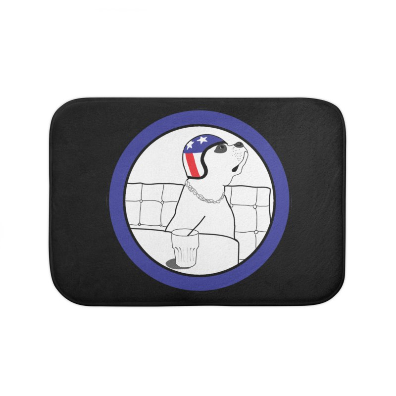 Awesome Dog Home Bath Mat by Shirts That Never Happened