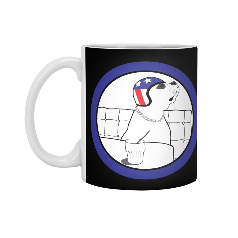 Awesome Dog Accessories Standard Mug by Shirts That Never Happened