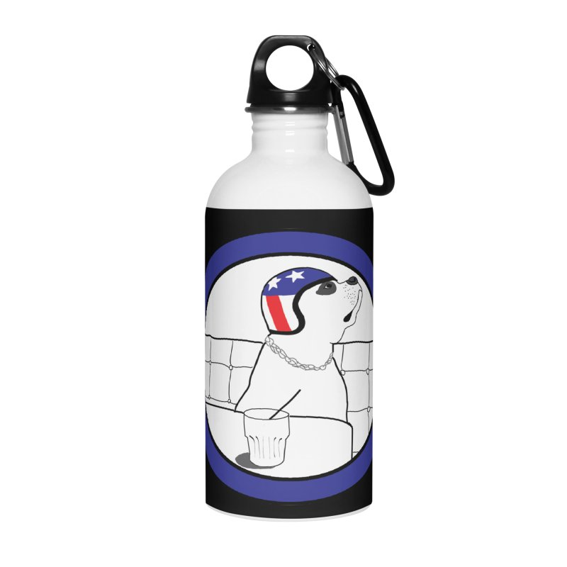 Awesome Dog Accessories Water Bottle by Shirts That Never Happened