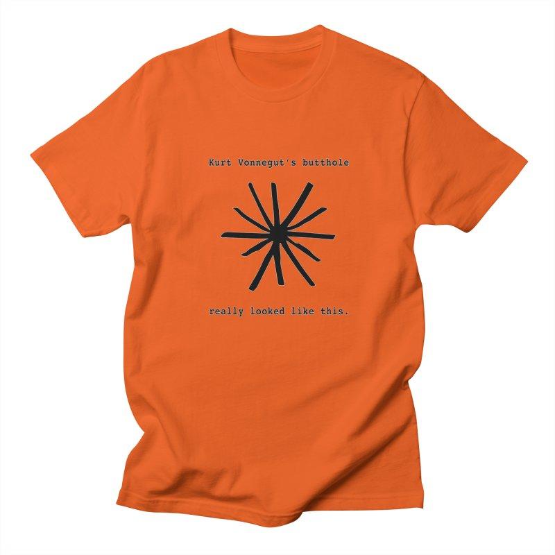 Kurt Vonnegut's Butthole Women's Regular Unisex T-Shirt by Shirts That Never Happened