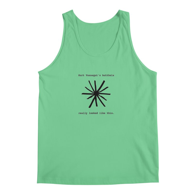 Kurt Vonnegut's Butthole Men's Regular Tank by Shirts That Never Happened