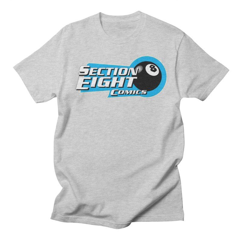 SECTION 8 COMICS  Men's T-shirt by The8spot's Artist Shop