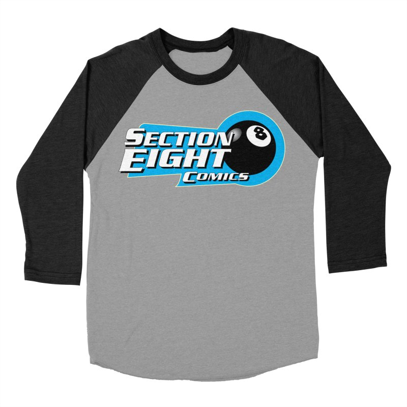 SECTION 8 COMICS  Men's Baseball Triblend T-Shirt by The8spot's Artist Shop