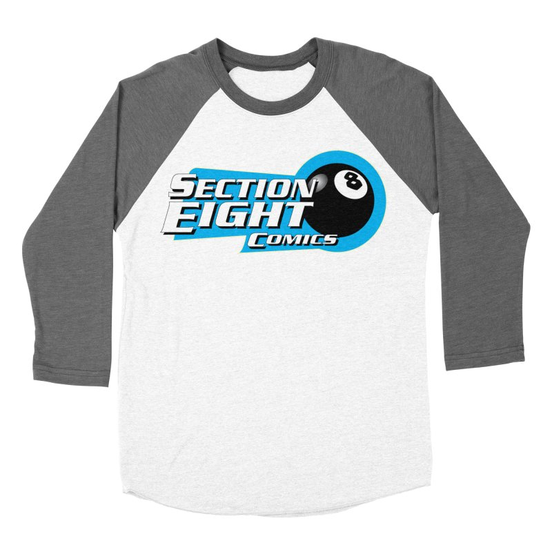 SECTION 8 COMICS  Men's Baseball Triblend T-Shirt by The8spot's Artist Shop