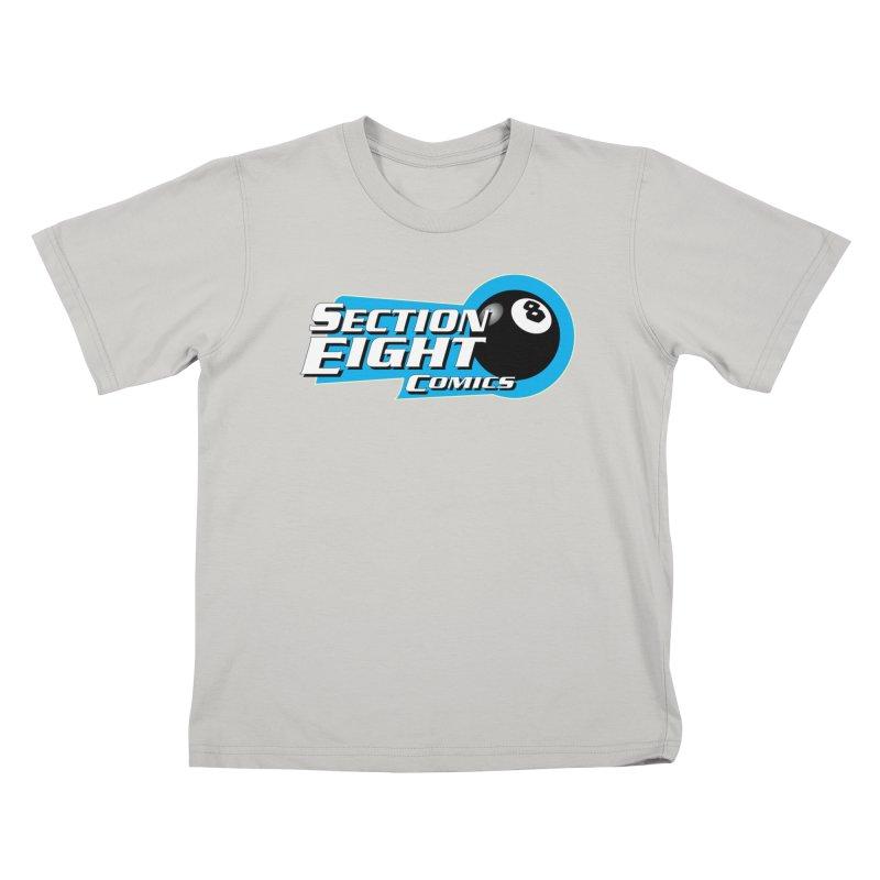 SECTION 8 COMICS  Kids T-shirt by The8spot's Artist Shop