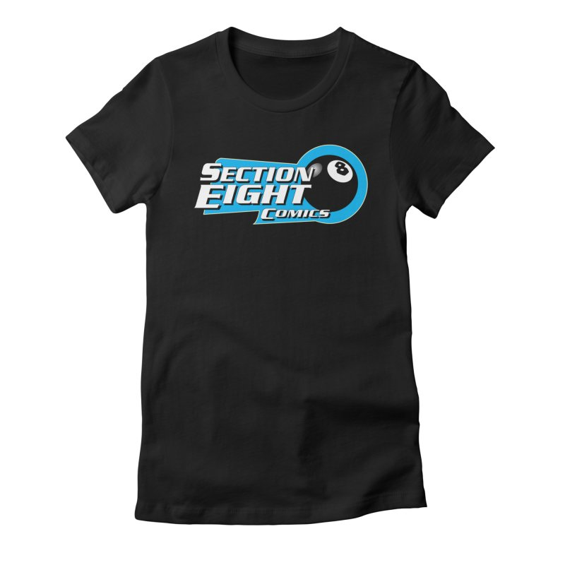 SECTION 8 COMICS  Women's Fitted T-Shirt by The8spot's Artist Shop