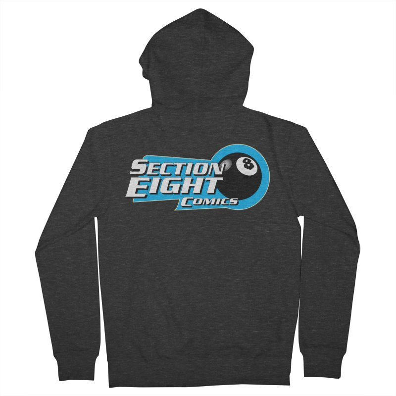SECTION 8 COMICS Women's French Terry Zip-Up Hoody by The8spot's Artist Shop