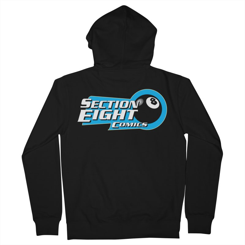 SECTION 8 COMICS Men's Zip-Up Hoody by The8spot's Artist Shop