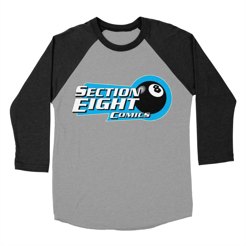 SECTION 8 COMICS Men's Baseball Triblend Longsleeve T-Shirt by The8spot's Artist Shop