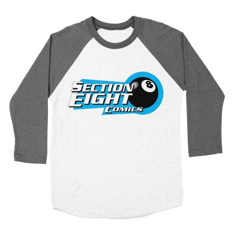 SECTION 8 COMICS Men's Baseball Triblend Longsleeve T-Shirt by The8spot's Artist Shop