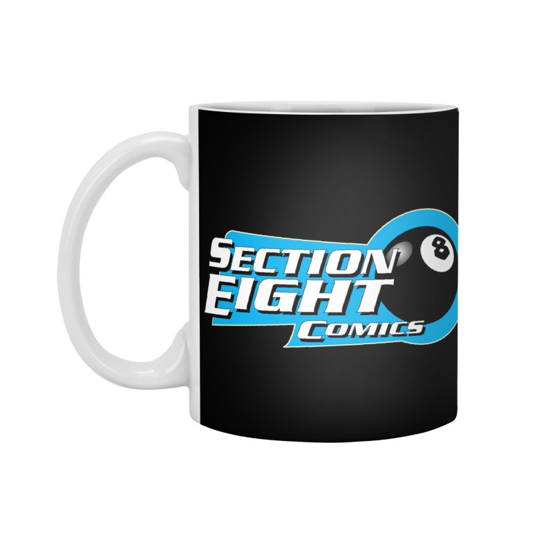 SECTION 8 COMICS Accessories Standard Mug by The8spot's Artist Shop