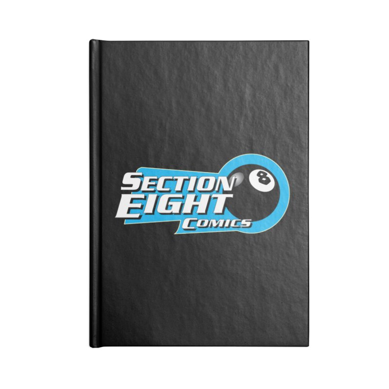 SECTION 8 COMICS Accessories Lined Journal Notebook by The8spot's Artist Shop