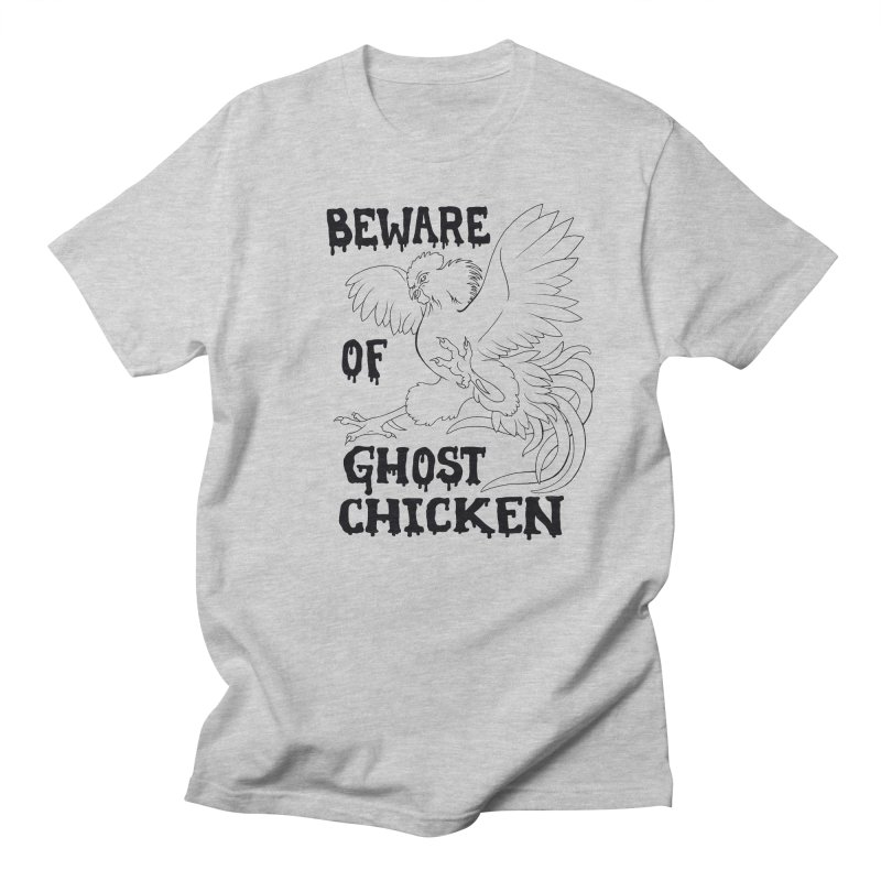 Beware of Ghost Chicken Men's T-shirt by The8spot's Artist Shop