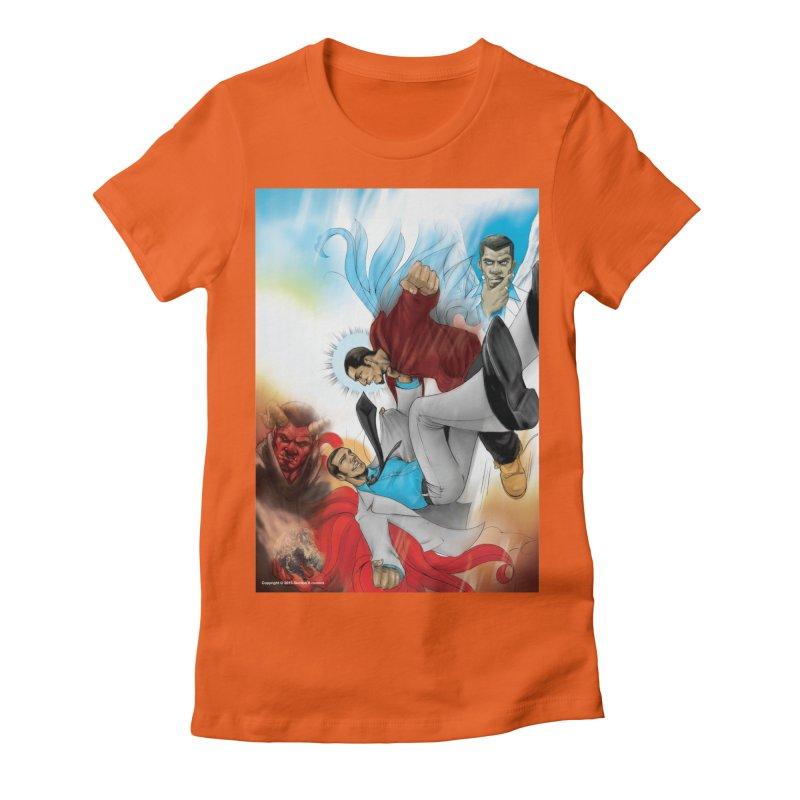 Dark Bloods Cover Shirt Women's Fitted T-Shirt by The8spot's Artist Shop