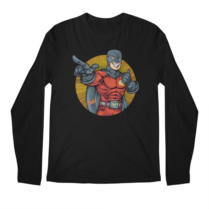 The Mark! Pointer  Men's Regular Longsleeve T-Shirt by The8spot's Artist Shop