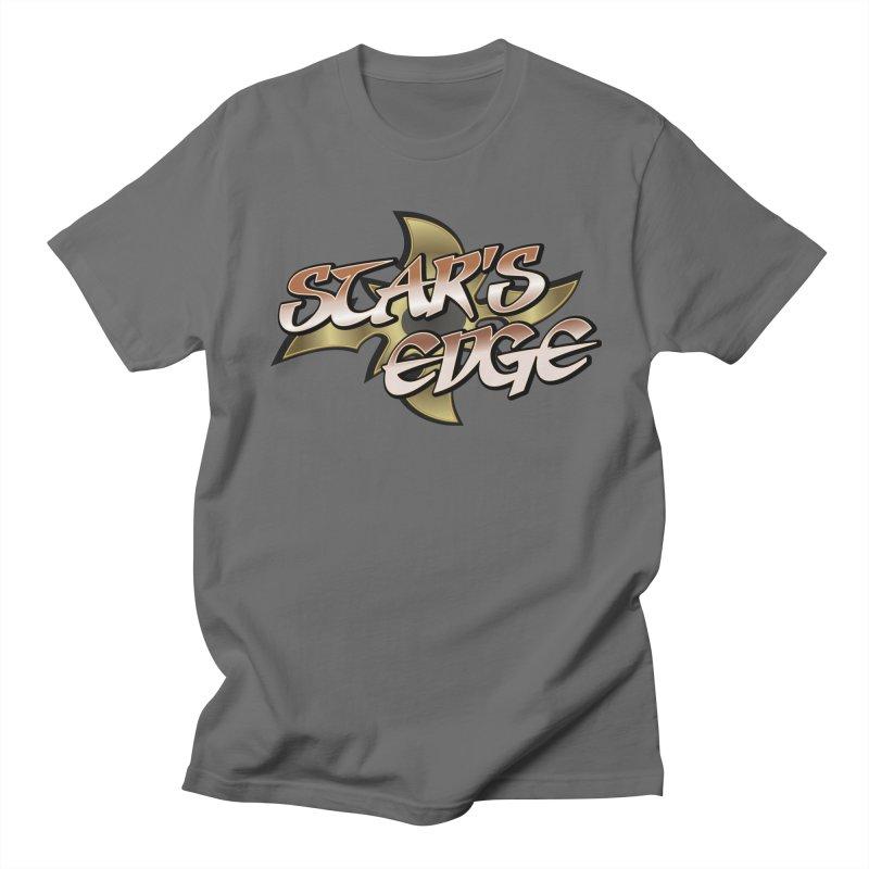 Stars Edge Logo Shirt Men's French Terry Zip-Up Hoody by The8spot's Artist Shop