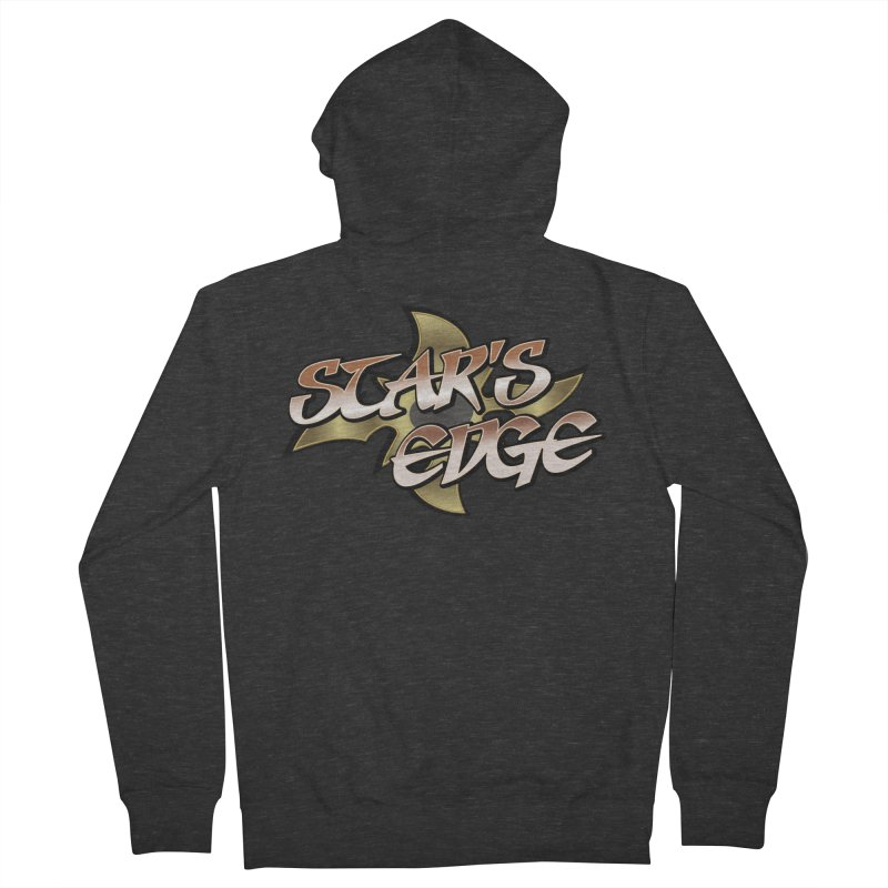 Stars Edge Logo Shirt Women's French Terry Zip-Up Hoody by The8spot's Artist Shop