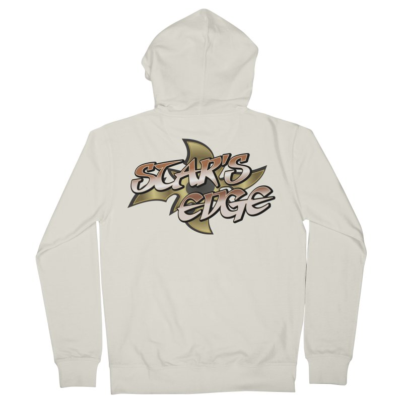 Stars Edge Logo Shirt Women's French Terry Zip-Up Hoody by The8spot's Artist Shop