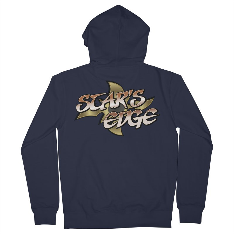 Stars Edge Logo Shirt Men's Zip-Up Hoody by The8spot's Artist Shop