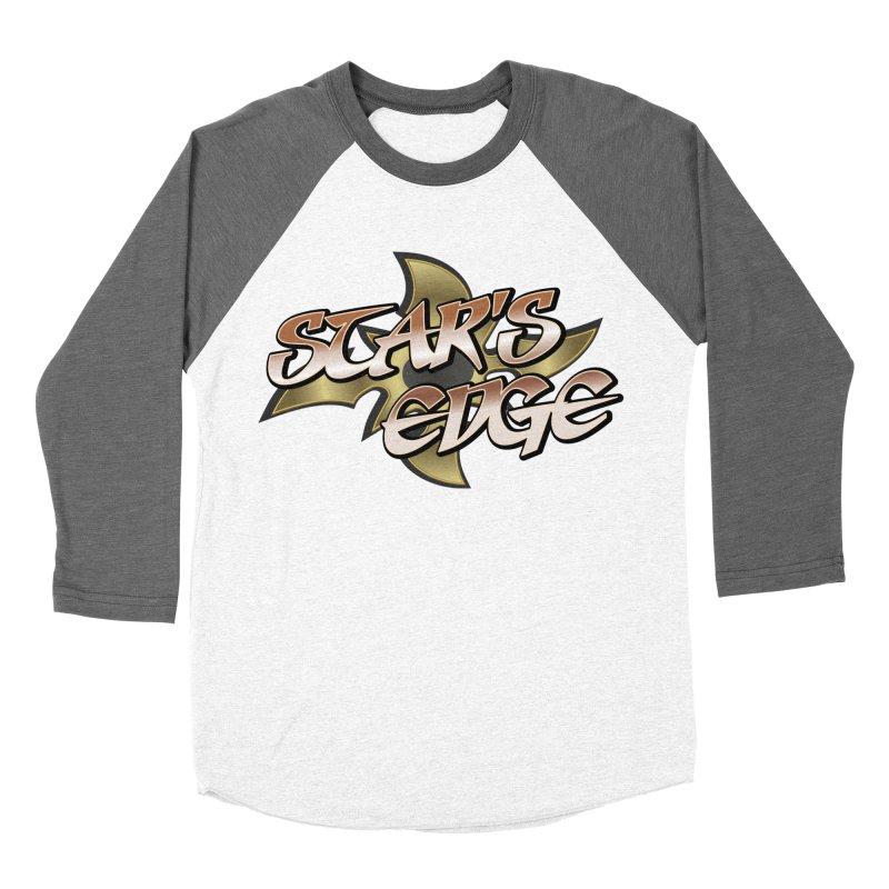 Stars Edge Logo Shirt Women's Baseball Triblend Longsleeve T-Shirt by The8spot's Artist Shop