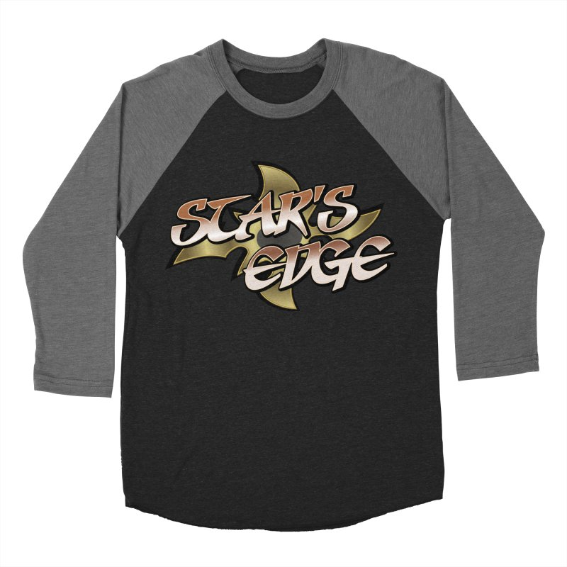Stars Edge Logo Shirt Women's Baseball Triblend Longsleeve T-Shirt by The8spot's Artist Shop