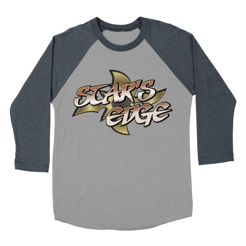 Stars Edge Logo Shirt Men's Baseball Triblend Longsleeve T-Shirt by The8spot's Artist Shop