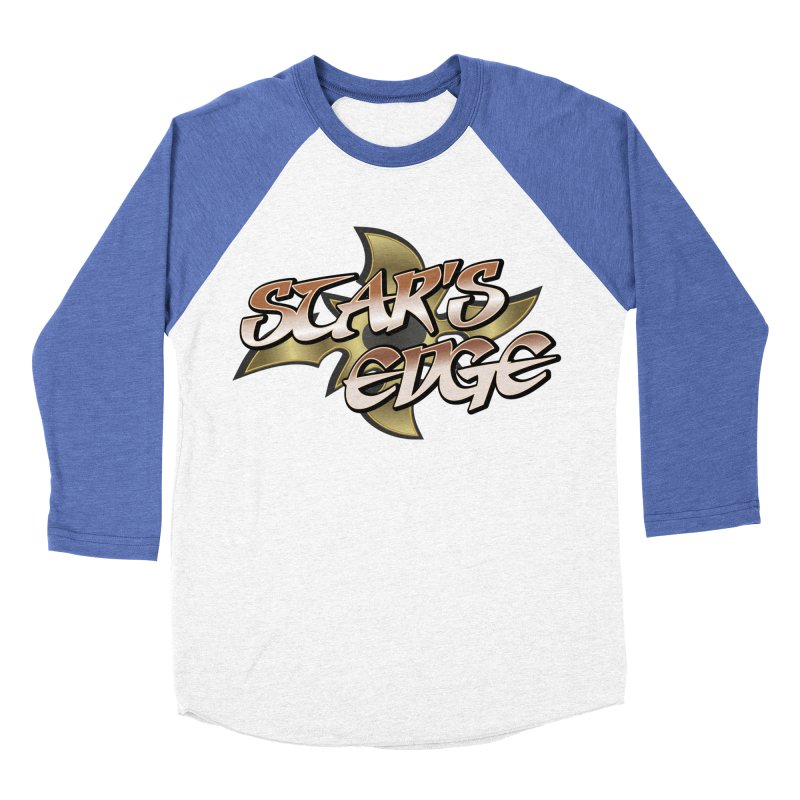 Stars Edge Logo Shirt Men's Baseball Triblend Longsleeve T-Shirt by The8spot's Artist Shop