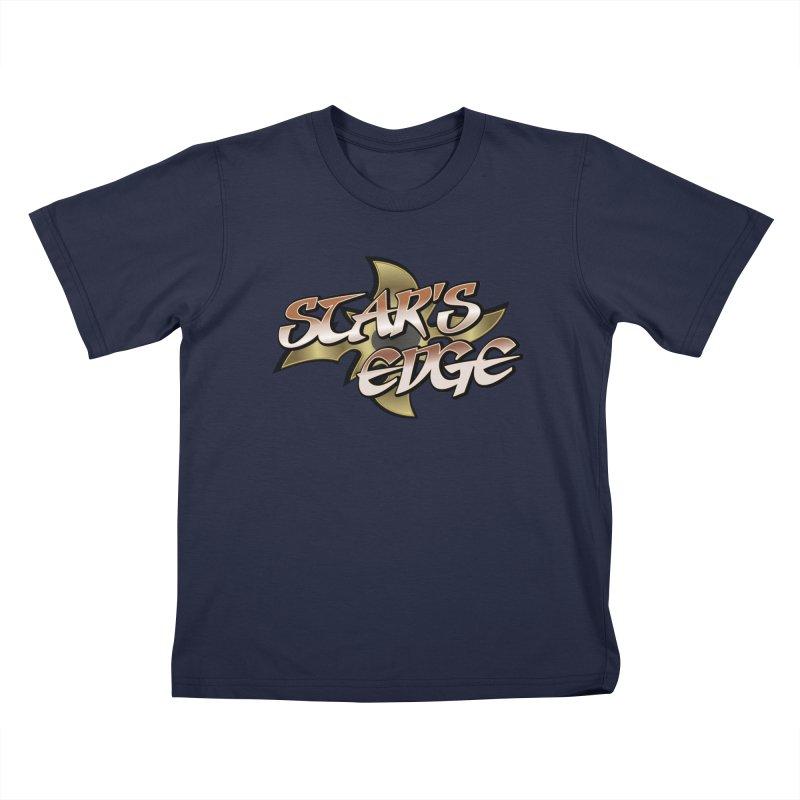 Stars Edge Logo Shirt Kids T-Shirt by The8spot's Artist Shop