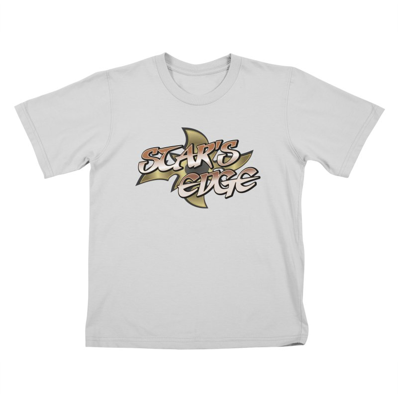 Stars Edge Logo Shirt Kids T-Shirt by The8spot's Artist Shop
