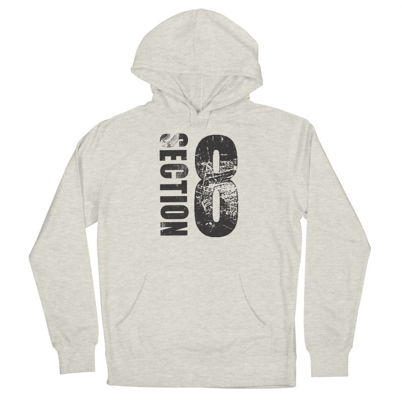 Section 8 Stressed logo Women's Pullover Hoody by The8spot's Artist Shop