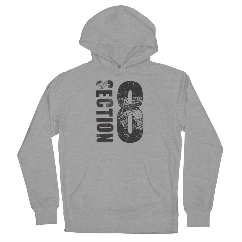 Section 8 Stressed logo Men's French Terry Pullover Hoody by The8spot's Artist Shop