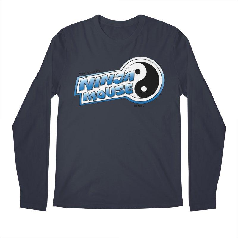 Ninja Mouse logo Men's Longsleeve T-Shirt by The8spot's Artist Shop