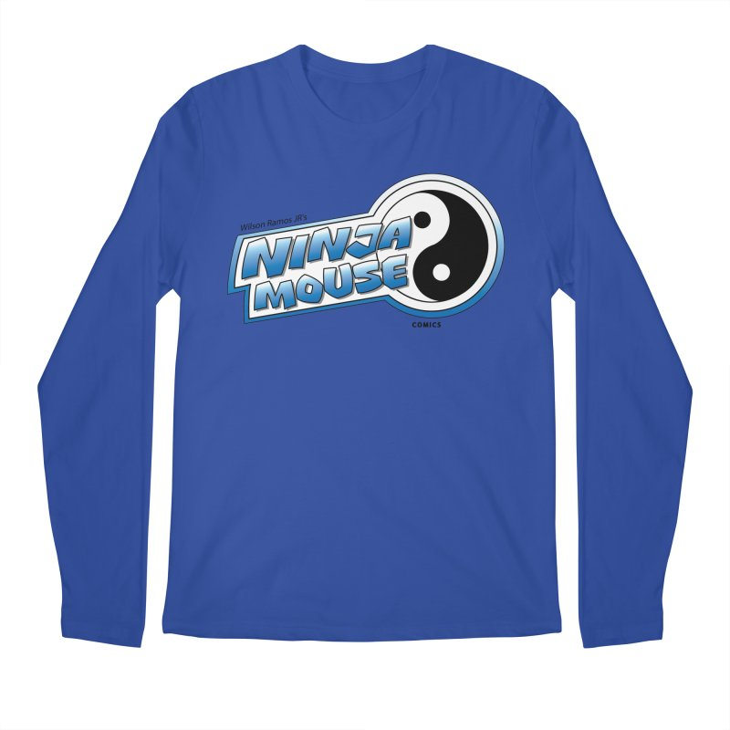 Ninja Mouse logo Men's Regular Longsleeve T-Shirt by The8spot's Artist Shop