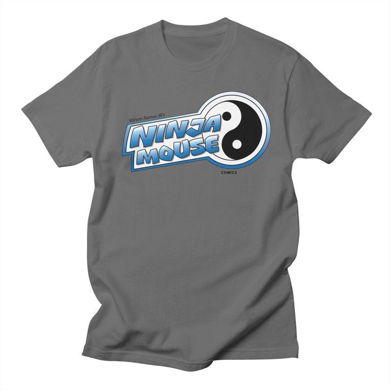 Ninja Mouse logo Men's T-Shirt by The8spot's Artist Shop