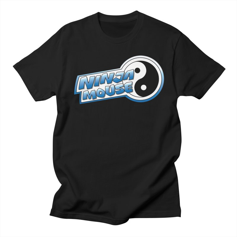 Ninja Mouse logo Men's Regular T-Shirt by The8spot's Artist Shop