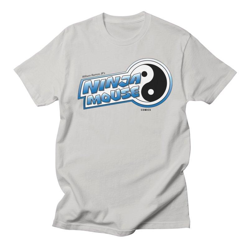 Ninja Mouse logo Men's Regular T-Shirt by The8spot's Artist Shop
