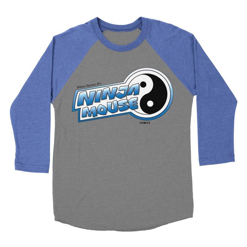 Ninja Mouse logo Women's Baseball Triblend Longsleeve T-Shirt by The8spot's Artist Shop