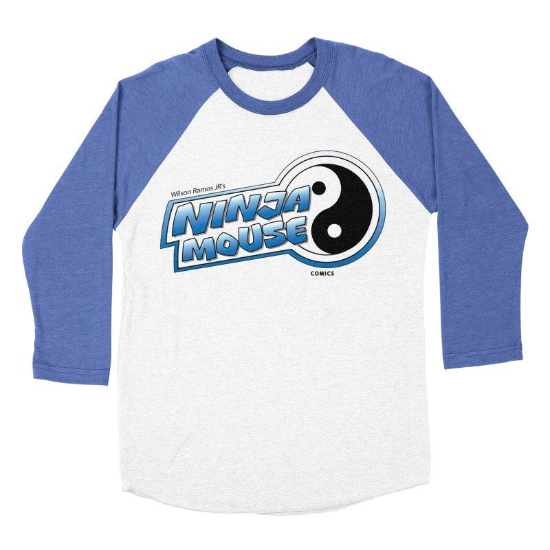 Ninja Mouse logo Men's Baseball Triblend Longsleeve T-Shirt by The8spot's Artist Shop