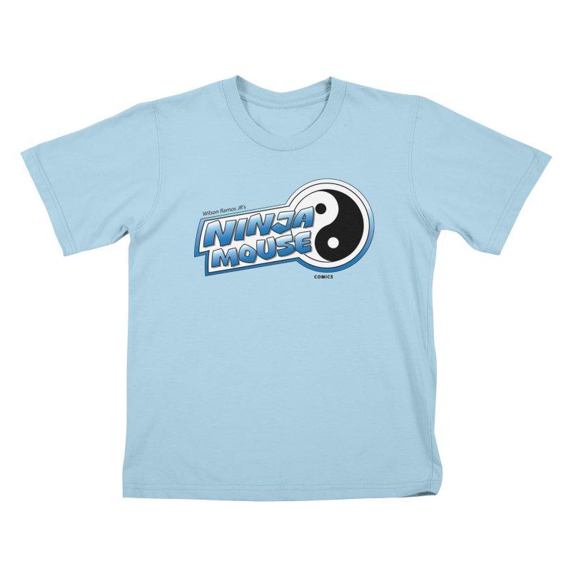 Ninja Mouse logo Kids T-Shirt by The8spot's Artist Shop