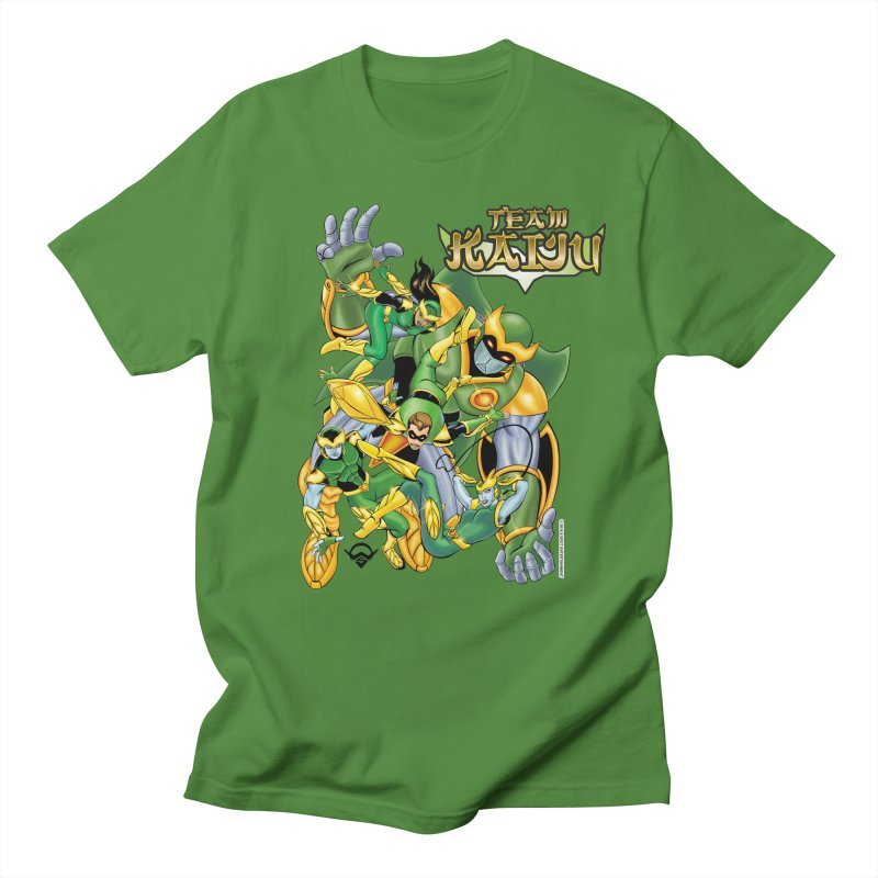 Team Kaiju Falling  Men's Regular T-Shirt by The8spot's Artist Shop