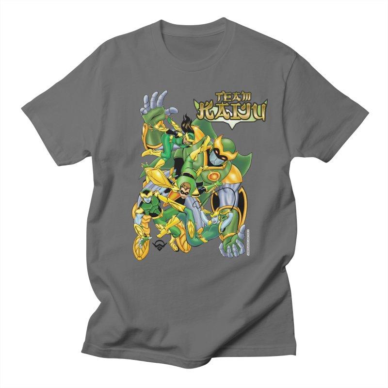 Team Kaiju Falling  Men's Regular T-Shirt by The8spot's Artist Shop