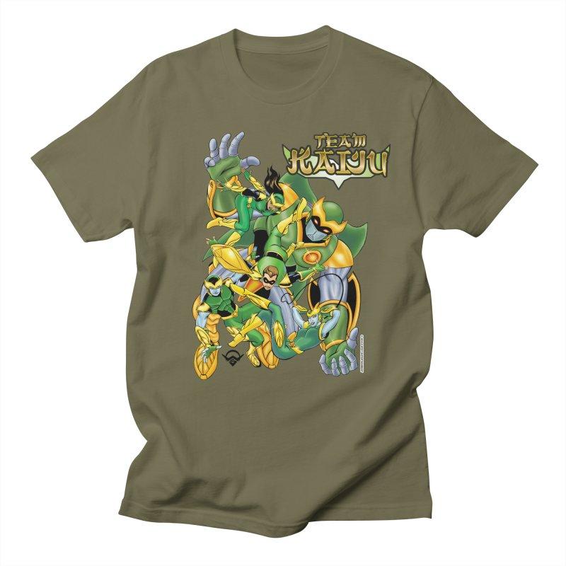 Team Kaiju Falling  Men's T-Shirt by The8spot's Artist Shop