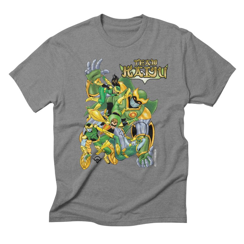 Team Kaiju Falling  Men's Triblend T-Shirt by The8spot's Artist Shop